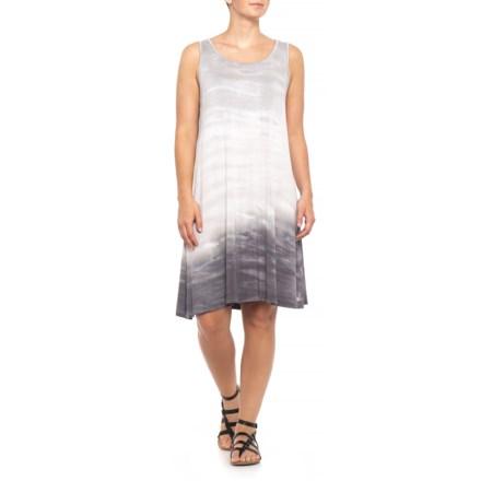 d88eb95dd5942 CG Sport Grey Tie-Dye Swing Dress - Sleeveless (For Women) in Grey