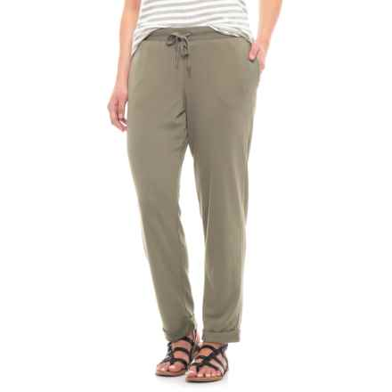 CG Sport Pale Olive Joggers (For Women) in Pale Olive - Closeouts