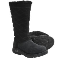 Chaco Arbora Tall Boots - Waterproof, Leather (For Women) in Black - Closeouts