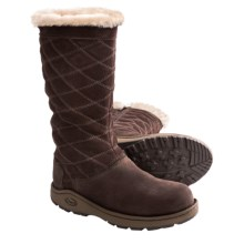Chaco Arbora Tall Boots - Waterproof, Leather (For Women) in Chocolate Brown - Closeouts