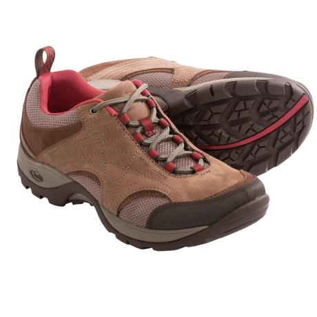 Chaco Azula Mesh Trail Shoes (For Women) in Bison