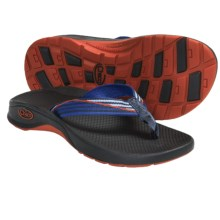 CHACO BIT-O-FLIP ECOTREAD FLIP FLOP SANDALS (For Little and Big Kids) in Ramp - Closeouts