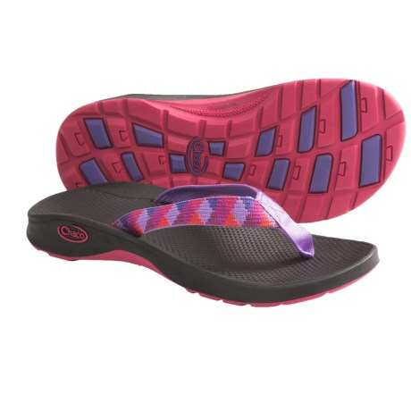 Chaco Bit-O-Flip Ecotread Sandals - Flip-Flops (For Kids and Youth) in Leaf Vines