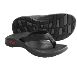Chaco Bit-O-Flip Ecotread Sandals - Flip-Flops (For Kids and Youth) in Black