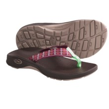 Chaco Bit-O-Flip Ecotread Sandals - Flip-Flops (For Kids and Youth) in Bunny Treats - Closeouts