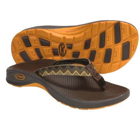 Chaco Bit-O-Flip Ecotread Sandals - Flip-Flops (For Kids and Youth) in Argyle