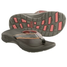 Chaco Bit-O-Flip Ecotread Sandals - Flip-Flops (For Kids and Youth) in Flower Patch - Closeouts