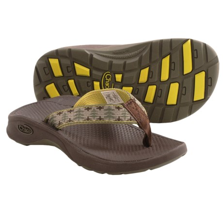 Chaco Bit-O-Flip Ecotread Sandals - Flip-Flops (For Kids and Youth) in Forest
