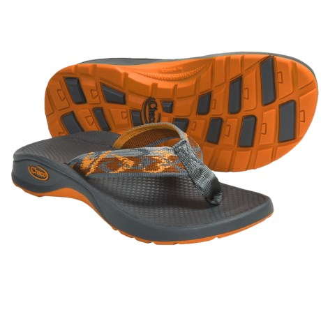 Chaco Bit-O-Flip Ecotread Sandals - Flip-Flops (For Kids and Youth) in Flower Patch