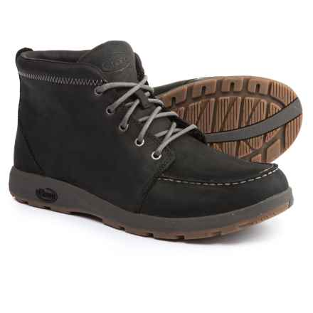 Chaco Brio Boots - Leather (For Men) in Black - Closeouts