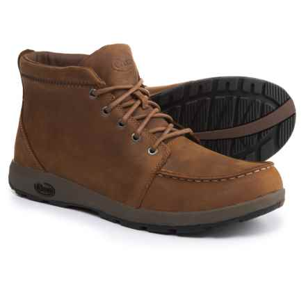 Chaco Brio Boots - Leather (For Men) in Cymbal - Closeouts