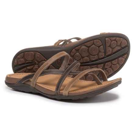 Chaco Cordova Leather Sandals (For Women) in Caribou - Closeouts