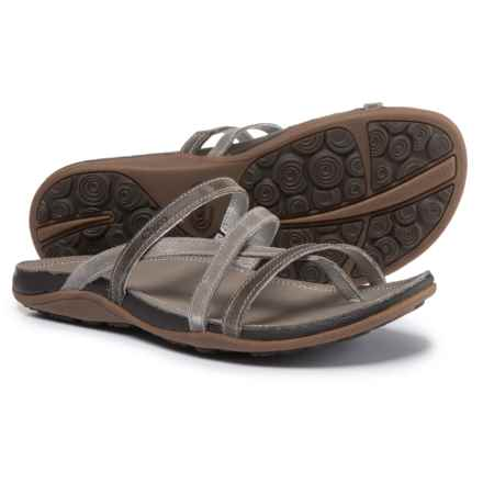 Chaco Cordova Leather Sandals (For Women) in Fossil - Closeouts