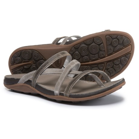 Chaco Cordova Leather Sandals (For Women) in Fossil