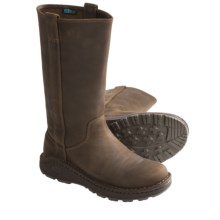 Chaco Credence Tall Leather Boots (For Women) in Leather Brown - Closeouts