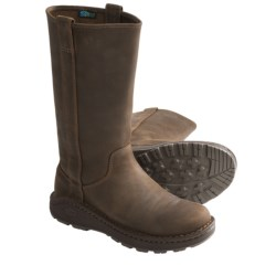 Chaco Credence Tall Leather Boots (For Women) in Leather Brown