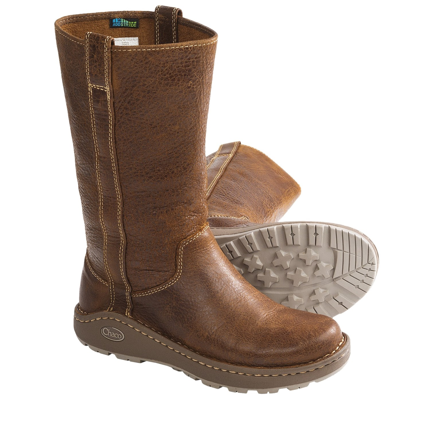 chaco credence leather boots for in