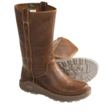 Chaco Credence Tall Leather Boots (For Women) in Sienna - Closeouts