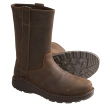 Chaco Credence Tall Nurl Boots - Leather (For Men) in Leather Brown - Closeouts