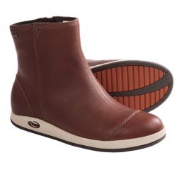 Chaco Darcy Boots - Waterproof, Leather (For Women) in Mocha Bisque