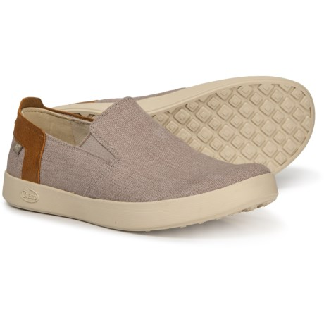 7c95c686d47f Chaco Davis Canvas Sneakers - Slip-Ons (For Men) in Gray