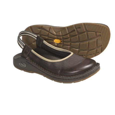 Chaco Devotee Shoes - Slip-Ons (For Women) in Shitake Brown