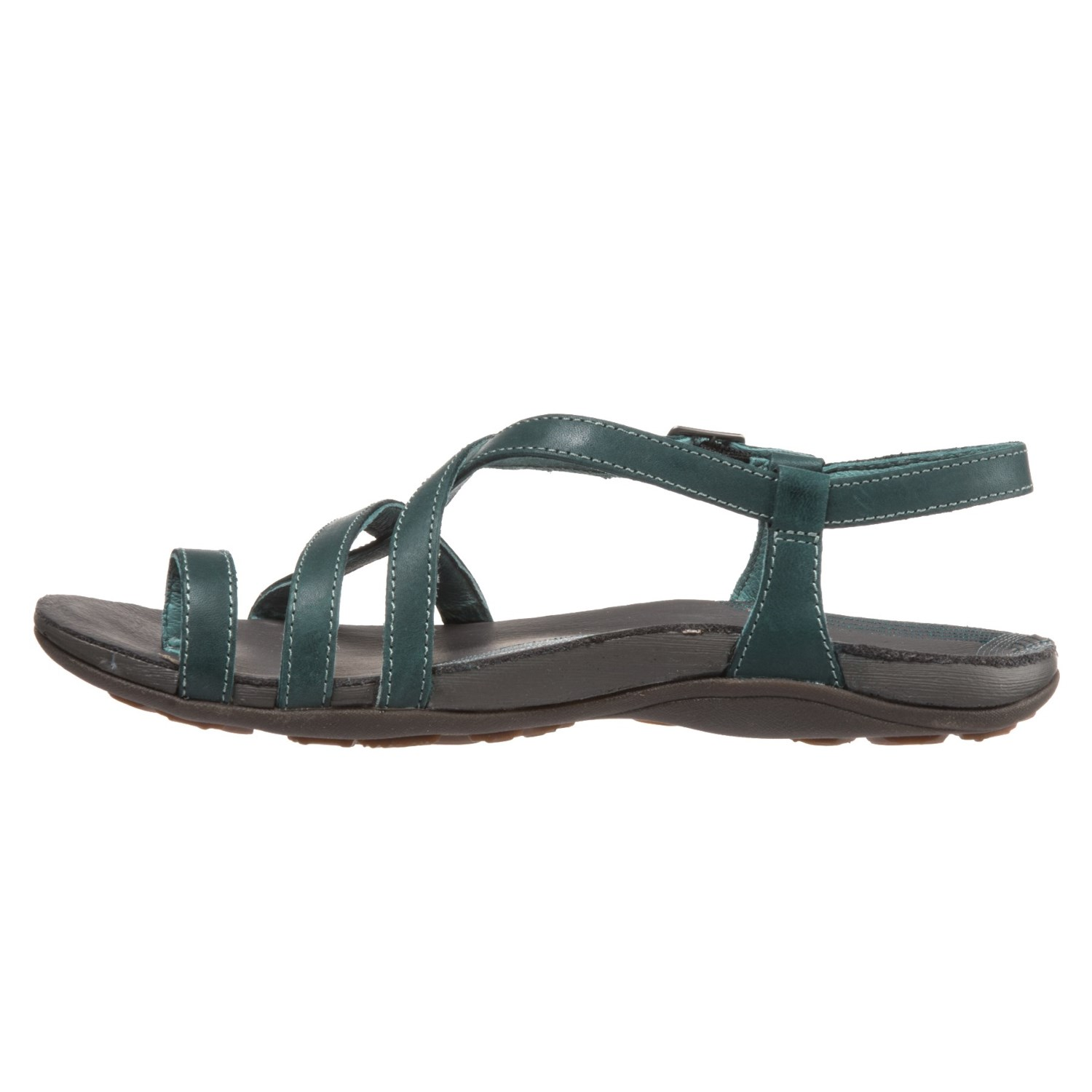 Chaco Dorra Leather Sandals For Women Save 69