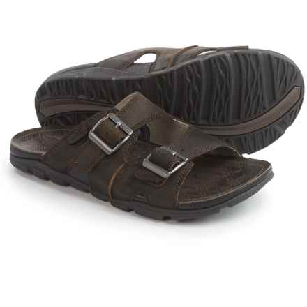 Chaco Elias Leather Sandals (For Men) in Brindle - Closeouts
