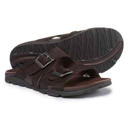 Chaco Elias Leather Sandals (For Men) in Java - Closeouts