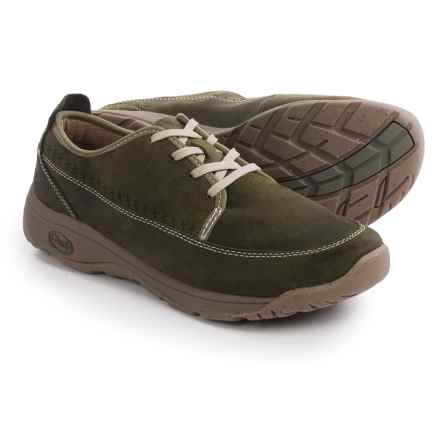 Chaco Everett Shoes - Leather, Lace-Ups (For Men) in Dusty Olive - Closeouts