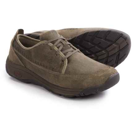Chaco Everett Shoes - Leather, Lace-Ups (For Men) in Sandstone - Closeouts