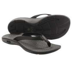 Chaco Fathom Flip-Flops (For Women) in Black