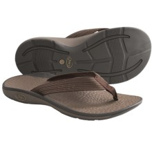 Chaco Fathom Sandals - Flip-Flops (For Men) in Deep Dive Brown - Closeouts