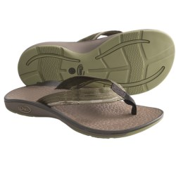 Chaco Fathom Sandals - Flip-Flops (For Men) in Seeing Green