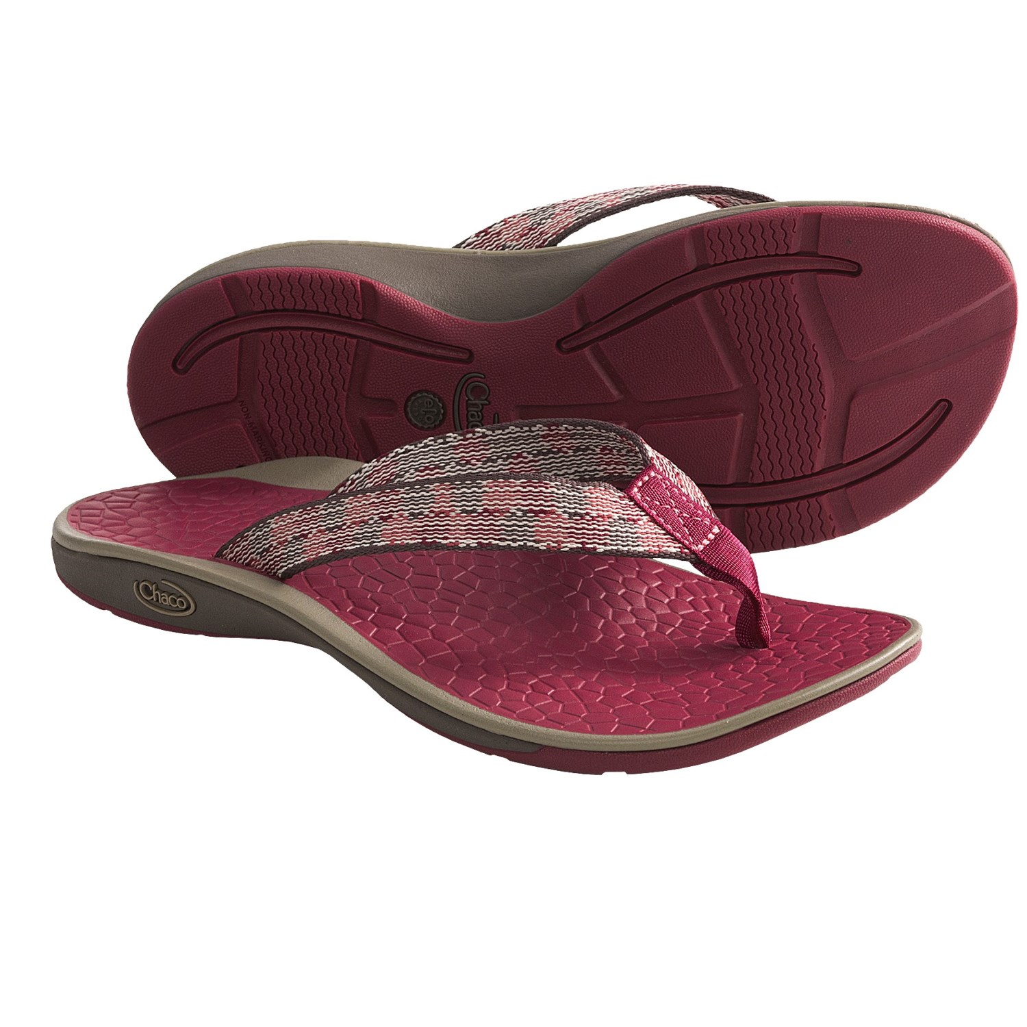 Chaco Fathom Sandals - Flip-Flops (For Women) in Cycloid Scale