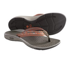 Chaco Fathom Sandals - Flip-Flops (For Women) in Digital Diamond - Closeouts