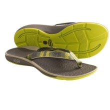 Chaco Fathom Sandals - Flip-Flops (For Women) in Summer Sunset - Closeouts