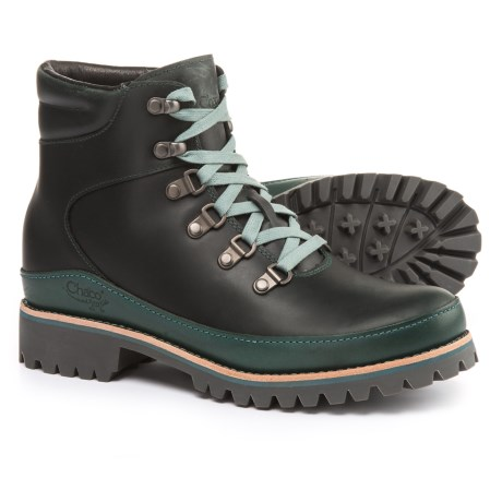 Chaco Fields Boots - Leather (For Women) in Ponderosa Pine