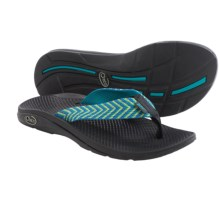 Chaco Flip EcoTread Flip-Flops  (For Women) in Fiesta Blue - Closeouts