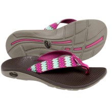 Chaco Flip EcoTread Flip-Flops  (For Women) in Woven - Closeouts