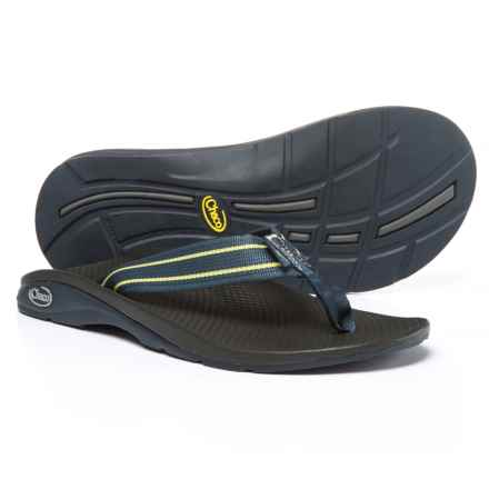 Chaco Flip EcoTread Flip-Flops - Recycled Materials (For Men) in Chain Eclipse - Closeouts