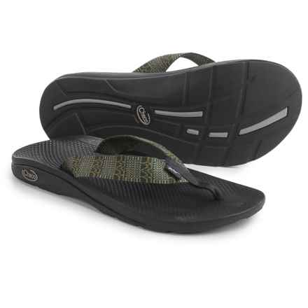 Chaco Flip EcoTread Flip-Flops - Recycled Materials (For Men) in King Forest - Closeouts