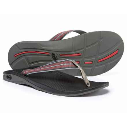 Chaco Flip EcoTread Flip-Flops - Recycled Materials (For Men) in Perentie Slate - Closeouts