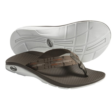 Chaco Flip EcoTread Thong Sandals - Flip-Flops, Recycled Materials (For Men) in Bay Leaf