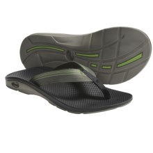 Chaco Flip EcoTread Thong Sandals - Flip-Flops, Recycled Materials (For Men) in Bay Leaf - Closeouts