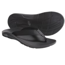 Chaco Flip EcoTread Thong Sandals - Flip-Flops, Recycled Materials (For Men) in Black - Closeouts