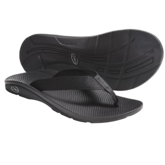 Chaco Flip EcoTread Thong Sandals - Flip-Flops, Recycled Materials (For Men) in Black