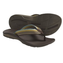 Chaco Flip EcoTread Thong Sandals - Flip-Flops, Recycled Materials (For Women) in Carnival - Closeouts