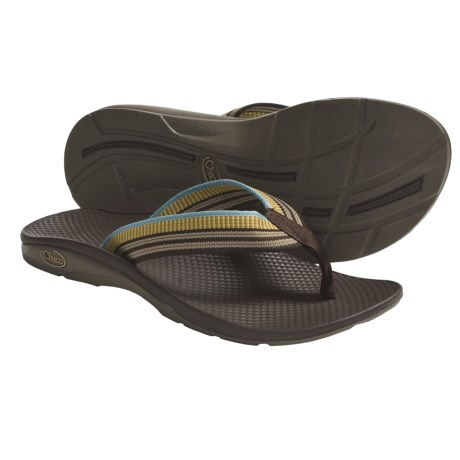 Chaco Flip EcoTread Thong Sandals - Flip-Flops, Recycled Materials (For Women) in Longitude