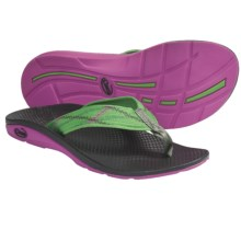 Chaco Flip EcoTread Thong Sandals - Flip-Flops, Recycled Materials (For Women) in Prep - Closeouts